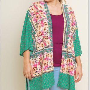 New Umgee Boho kimono